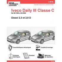e-RTA Iveco Daily III Classe C Diesel (06-1999 à 04-2006)