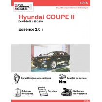 e-RTA Hyundai COUPE II Essence (09-2006 à 10-2010)