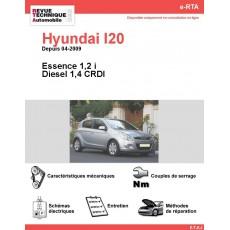 e-RTA Hyundai I20 Essence et Diesel (Depuis 04-2009)
