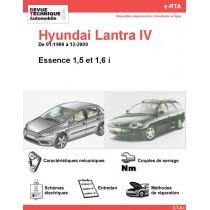 e-RTA Hyundai Lantra IV Essence (01-1999 à 12-2000)