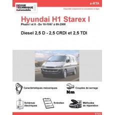 e-RTA Hyundai H1 Starex I Diesel (10-1997 à 09-2008)