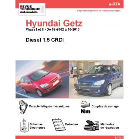 e-RTA Hyundai Getz Diesel (09-2002 à 10-2010)