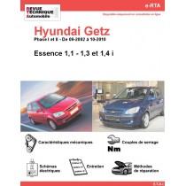e-RTA Hyundai Getz Essence (09-2002 à 10-2010)