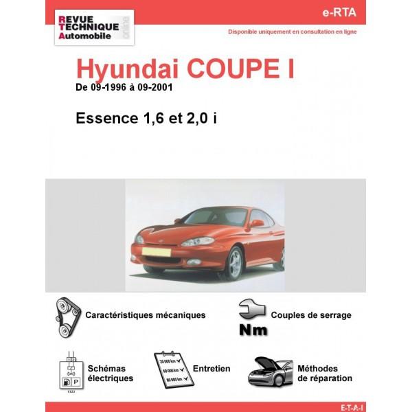 e-RTA Hyundai COUPE I Essence (09-1996 à 09-2001)