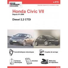 e-RTA Honda Civic VII Diesel (Depuis 01-2006)