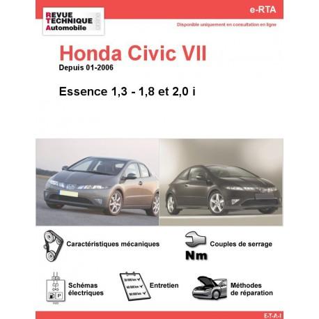 e-RTA Honda Civic VII Essence (Depuis 01-2006)