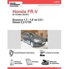 e-RTA Honda FR-V Essence et Diesel (10-2004 à 06-2011)
