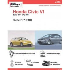 e-RTA Honda Civic VI Diesel (03-2001 à 12-2005)
