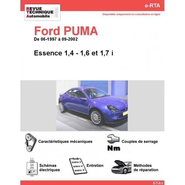 e-RTA Ford PUMA Essence (06-1997 à 09-2002)