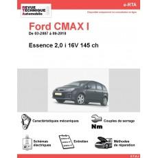 e-RTA Ford CMAX I Essence 2,0 i 16V (03-2007 à 09-2010)