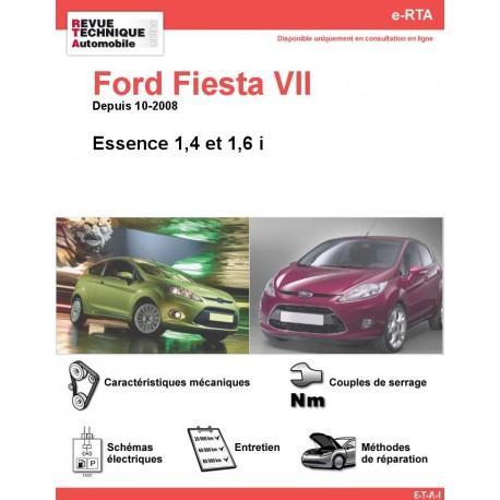e-RTA Ford Fiesta VII Essence (Depuis 10-2008)
