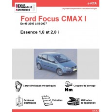 e-RTA Ford FOCUS CMAX I Essence (09-2003 à 03-2007)