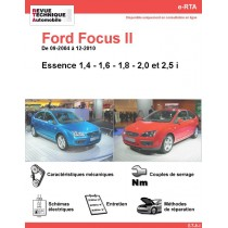 e-RTA Ford FOCUS II Essence (09-2004 à 12-2010)