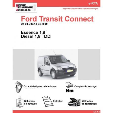 e-RTA Ford Transit Connect Essence et Diesel (09-2002 à 04-2009)