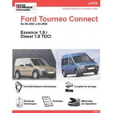 e-RTA Ford Tourneo Connect Essence et Diesel (09-2002 à 03-2009)