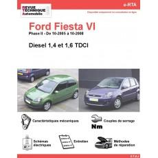e-RTA Ford Fiesta VI Diesel (10-2005 à 10-2008)