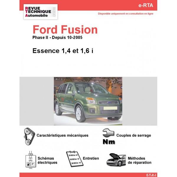 e-RTA Ford FUSION Essence (Depuis 10-2005)