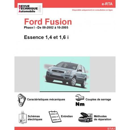 e-RTA Ford FUSION Essence ( 09-2002 à 10-2005)