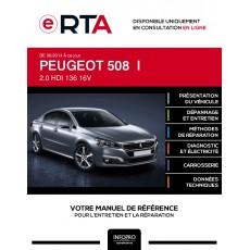 E-RTA Peugeot 508 I BERLINE 4 portes de 06/2014 à ce jour