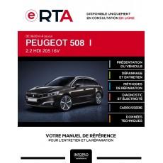 E-RTA Peugeot 508 I BREAK 5 portes de 06/2014 à ce jour