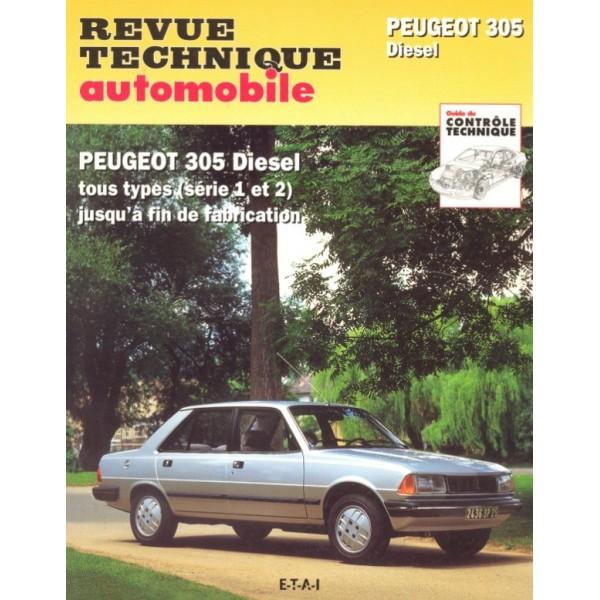 Revue Technique Peugeot 305