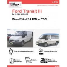 e-RTA Ford Transit III Diesel (03-2000 à 09-2006)