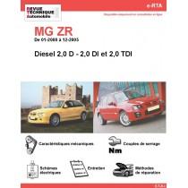 e-RTA MG ZR Diesel (01-2000 à 12-2005)