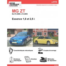 e-RTA MG ZT Essence (01-2000 à 12-2005)