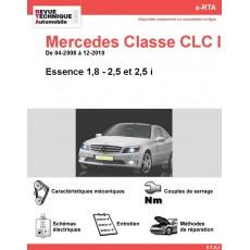 e-RTA Mercedes Classe CLC II (203) Essence (04-2008 à 12-2010)