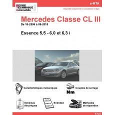 e-RTA Mercedes Classe CL III (216) Essence (10-2006 à 09-2010)