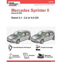 e-RTA Mercedes Sprinter II (906) Diesel (Depuis 06-2006)