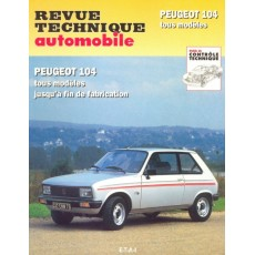 Revue Technique Automobile Peugeot 104