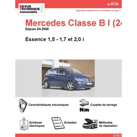e-RTA Mercedes Classe B I (245) Essence (Depuis 04-2008)