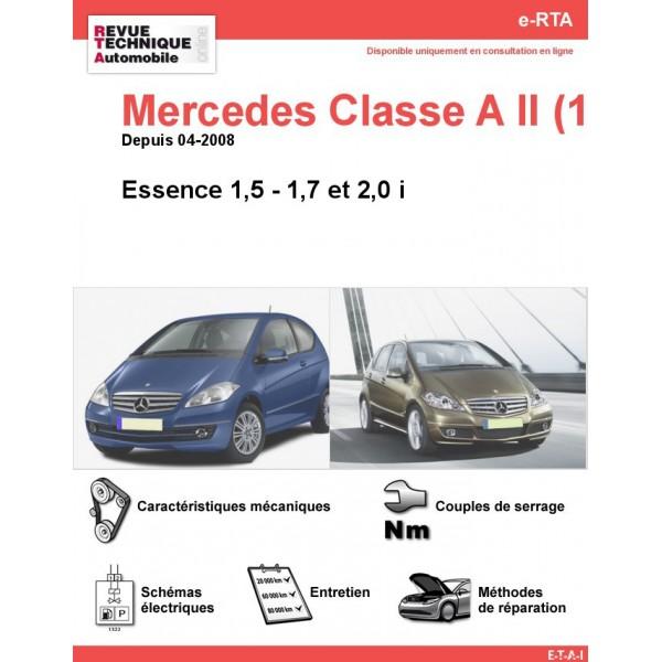 e-RTA Mercedes Classe A II (169) Essence (Depuis 04-2008)
