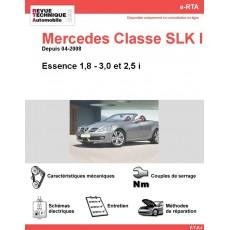 e-RTA Mercedes Classe SLK II (171) Essence (Depuis 04-2008)