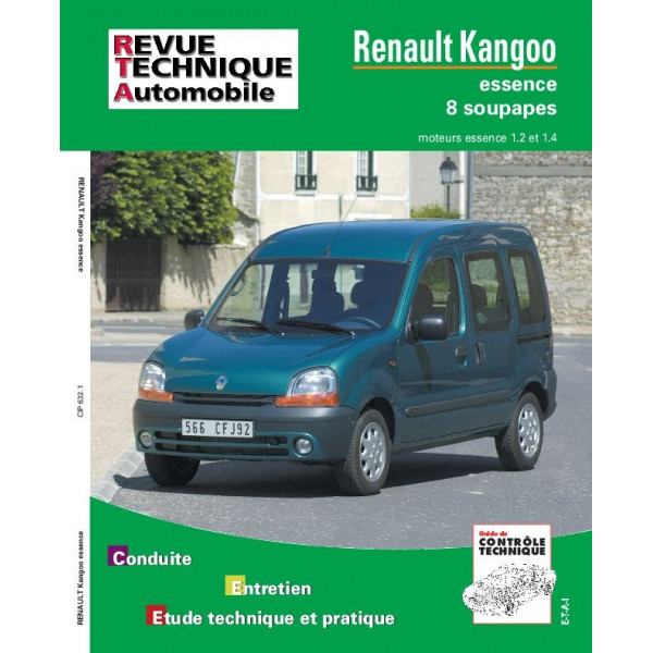 revue technique kangoo essence rta site officiel etai. Black Bedroom Furniture Sets. Home Design Ideas