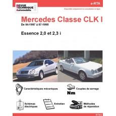 e-RTA Mercedes Classe CLK I (208) Essence (04-1997 à 07-1998)
