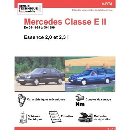 e-RTA Mercedes Classe E II (210) Essence (06-1995 à 09-1999)