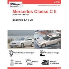 e-RTA Mercedes Classe C II (203) Essence V8 (03-2004 à 06-2007)