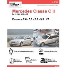 e-RTA Mercedes Classe C II (203) Essence V6 (05-2000 à 06-2007)