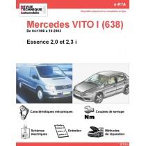 e-RTA Mercedes VITO I (638) Essence (04-1996 à 10-2003)