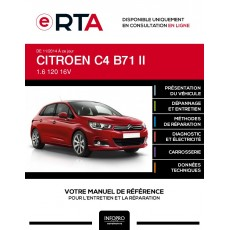 E-RTA Citroen C4 II HAYON 5 portes de 11/2014 à ce jour