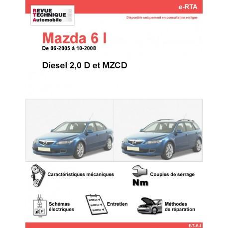 e-RTA MAZDA 6 I Diesel (06-2005 à 10-2008)