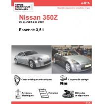 e-RTA NISSAN 350Z Essence (04-2003 à 03-2009)
