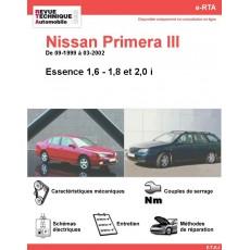 e-RTA NISSAN Primera III Essence (09-1999 à 03-2002)