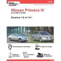 e-RTA NISSAN Primera IV Essence (03-2002 à 04-2006)