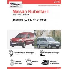 e-RTA NISSAN Kubistar I Essence (07-2003 à 11-2009)