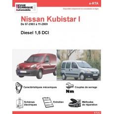 e-RTA NISSAN Kubistar I Diesel (07-2003 à 11-2009)