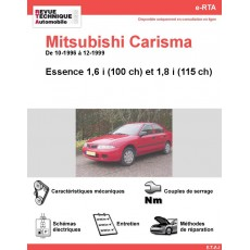 e-RTA MITSUBISHI Carisma Essence (10-1996 à 12-1999)