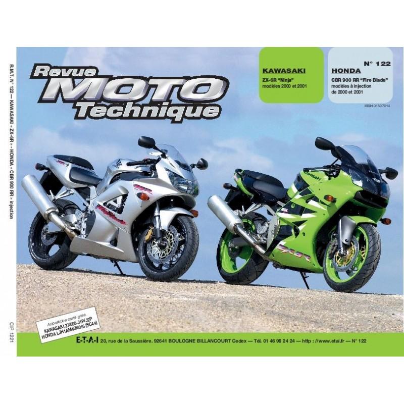 Revue Technique Moto Honda : revue moto technique kawasaki zx 6r et honda cbr900rr etai ~ Farleysfitness.com Idées de Décoration